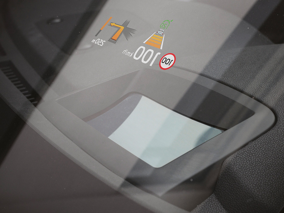 Kia Sorento head up display